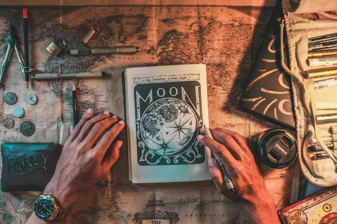 Tour de magie avec les mains
